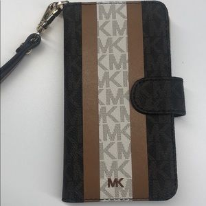 Michael Kors Logo Wristlet Case for IPhone XS or X